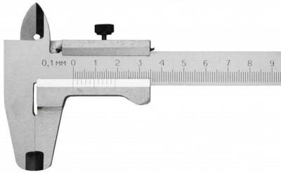 Штангенциркуль STURM 200мм с глубиномером