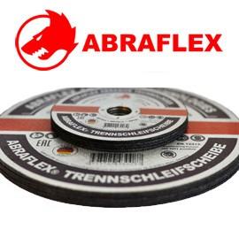 Круги отрезные по металлу и нержавеющией стали 125*1,6*22 ТМ ABRAFLEX