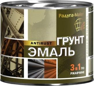 Грунт-эмаль 3в1 по ржавчине  2,7кг черная