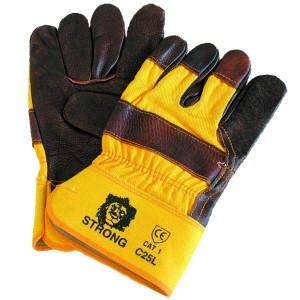 Перчатки кожаные С25Д