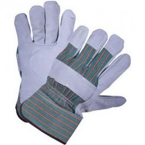 Перчатки спилковые С24