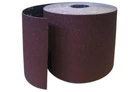 Бумага наждачная на тканевой основе 200мм*10м Р-320 (4Н) / м кв