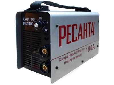 Сварочный инвертор Ресанта САИ-190 (ММА)