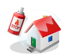 Огнезащитная обработка материалов, изделий и конструкций