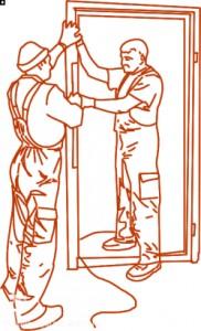 Установка противопожарных дверей и люков
