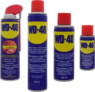 Жидкий ключ WD-40, 100мл